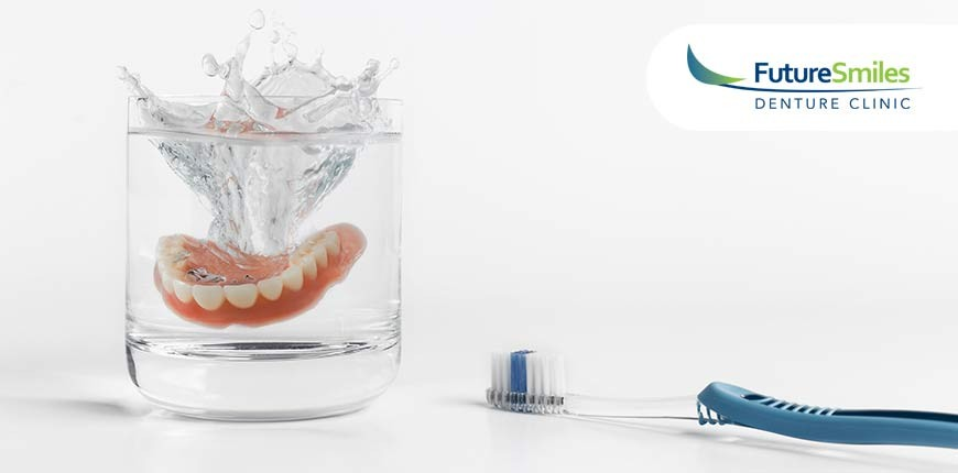 Simple Tips For Soaking and Brushing Your Partial Dentures