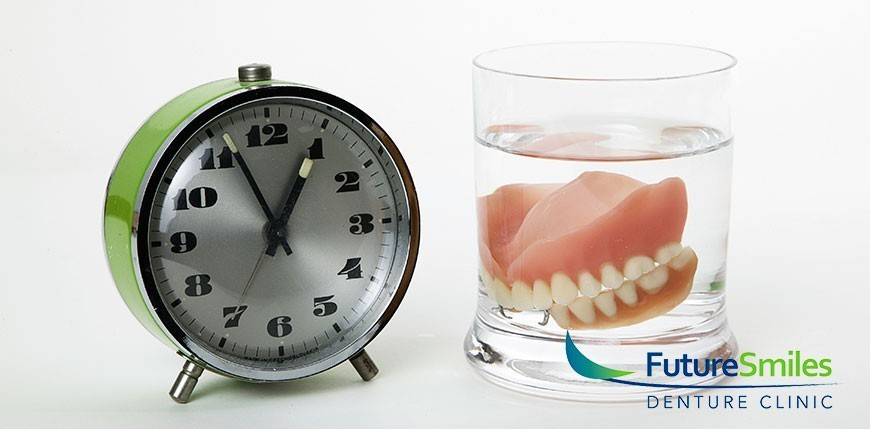soak denture overnight